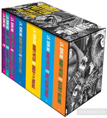 Harry Potter Boxed Set: The Complete Collection (Adult Paperback) фото