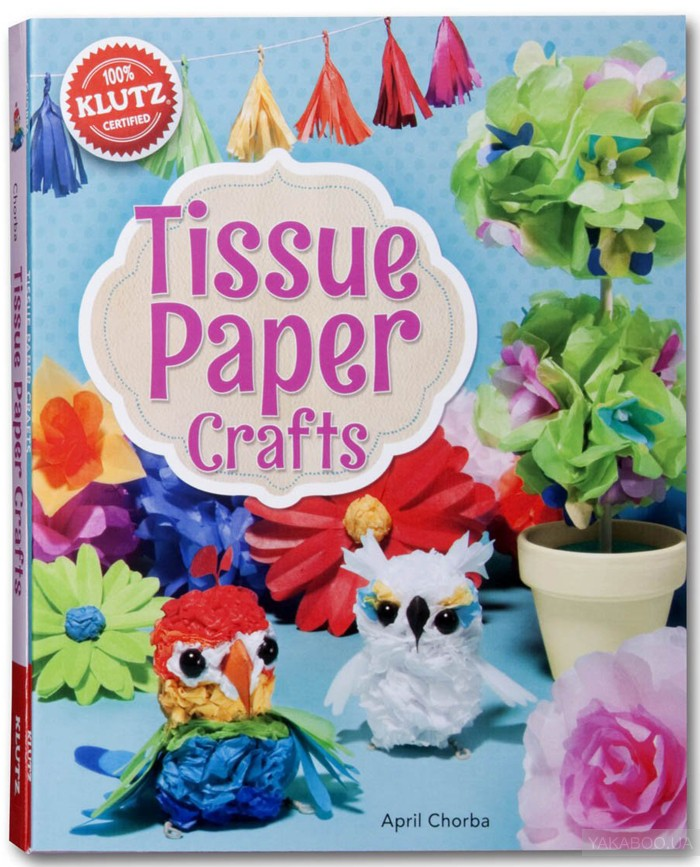 Tissue Paper Crafts: Colorful decorations that are totally do-able and totally adorable фото