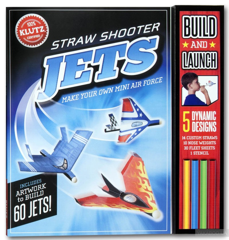 Straw Shooter Jets: Make your own mini air force фото