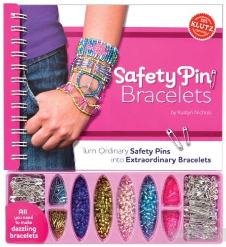 Safety Pin Bracelets: Turn Ordinary Safety Pins into Extraordinary Bracelets фото