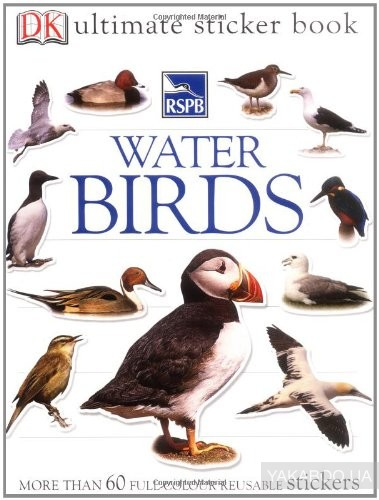 RSPB Water Birds Ultimate Sticker Book (Ultimate Stickers) фото