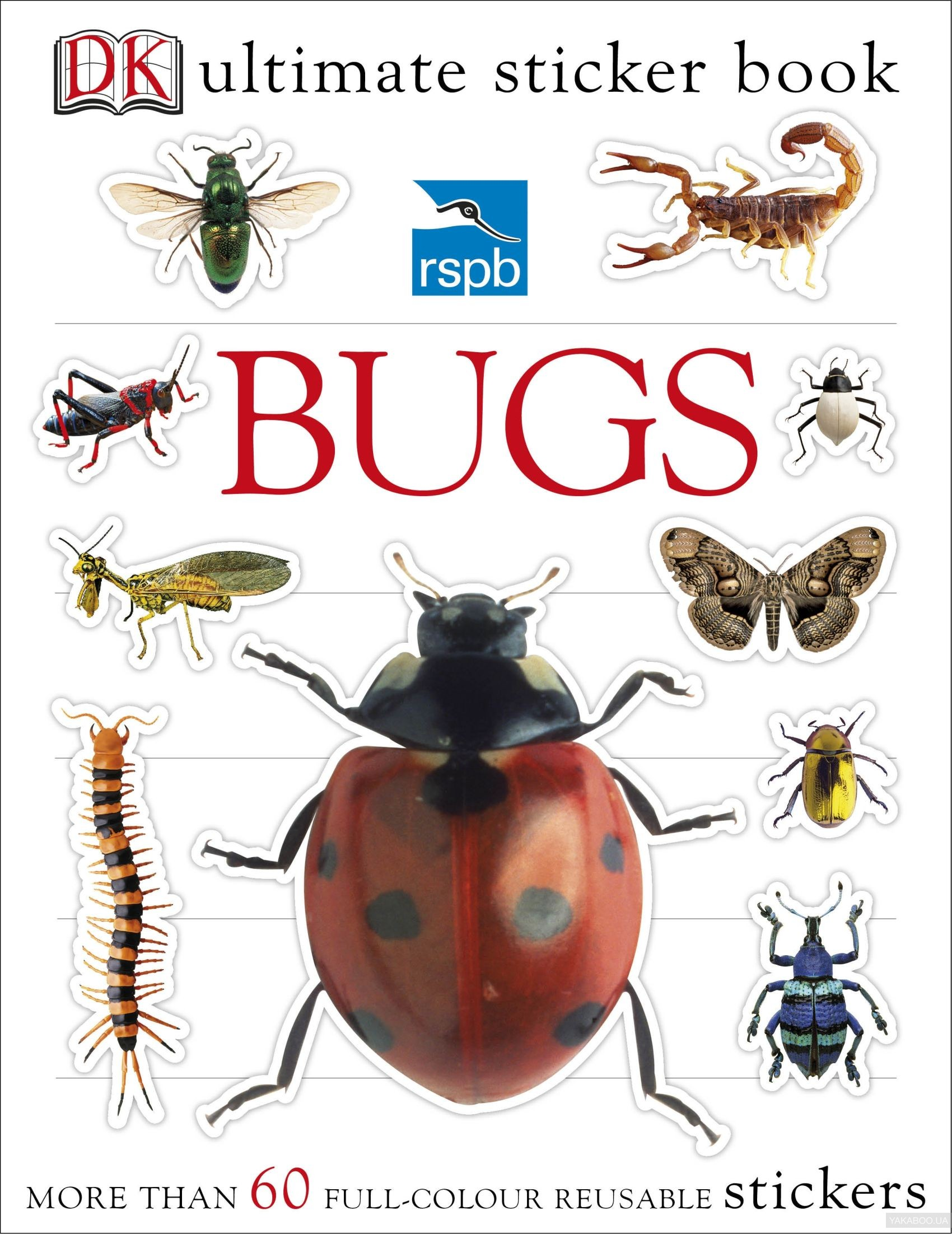 RSPB Bugs Ultimate Sticker Book фото