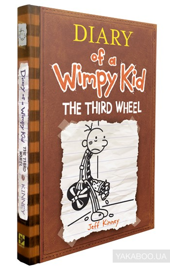 Diary of a Wimpy Kid. Book 7. The Third Wheel