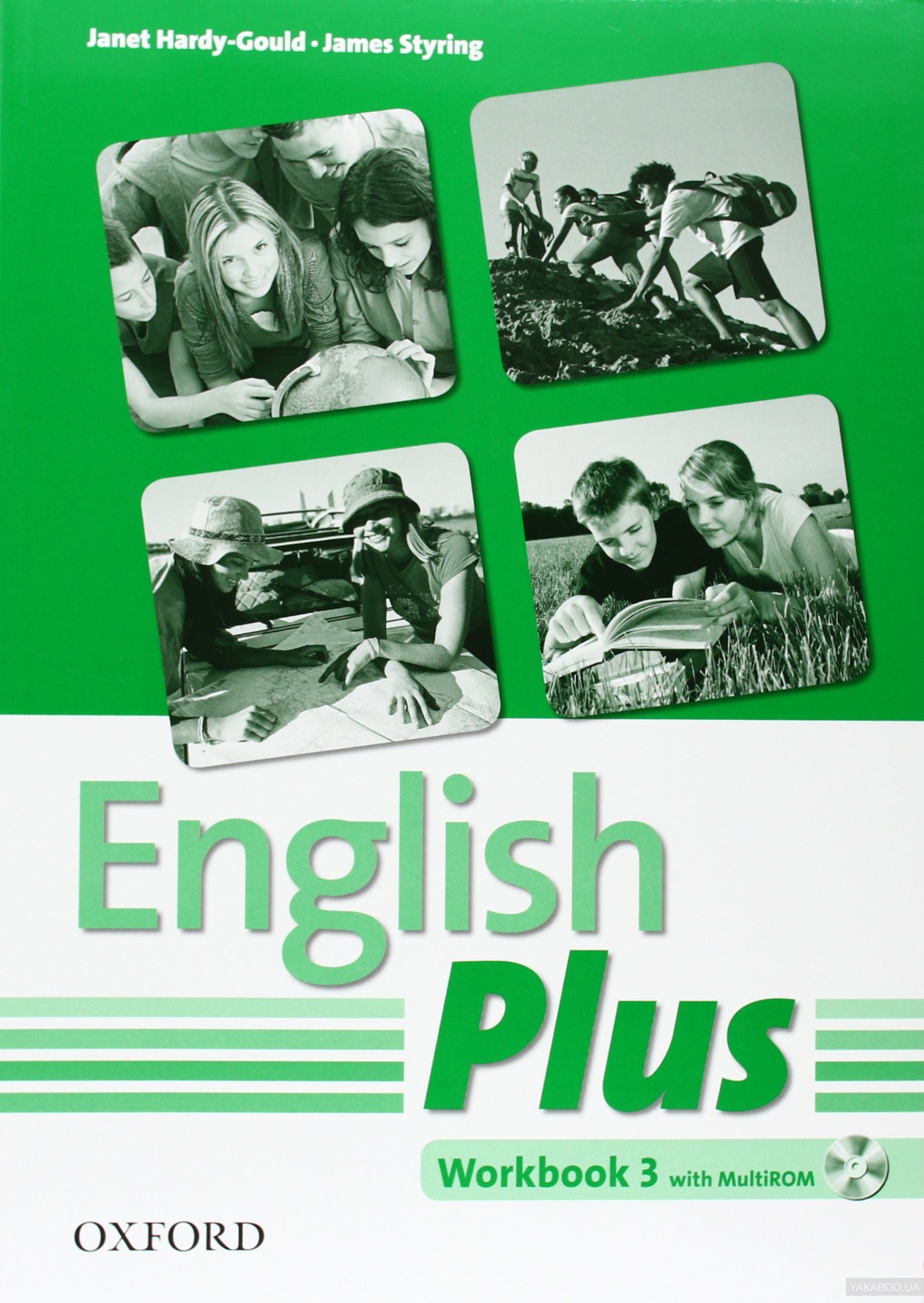 English Plus 3. Workbook with MultiROM: An English Secondary Course for Students Aged 12-16 Years (+ CD-ROM)