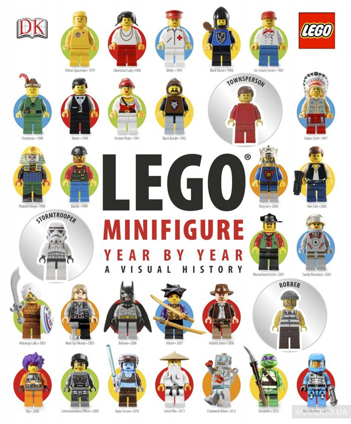 LEGO Minifigure: Year by Year A Visual History