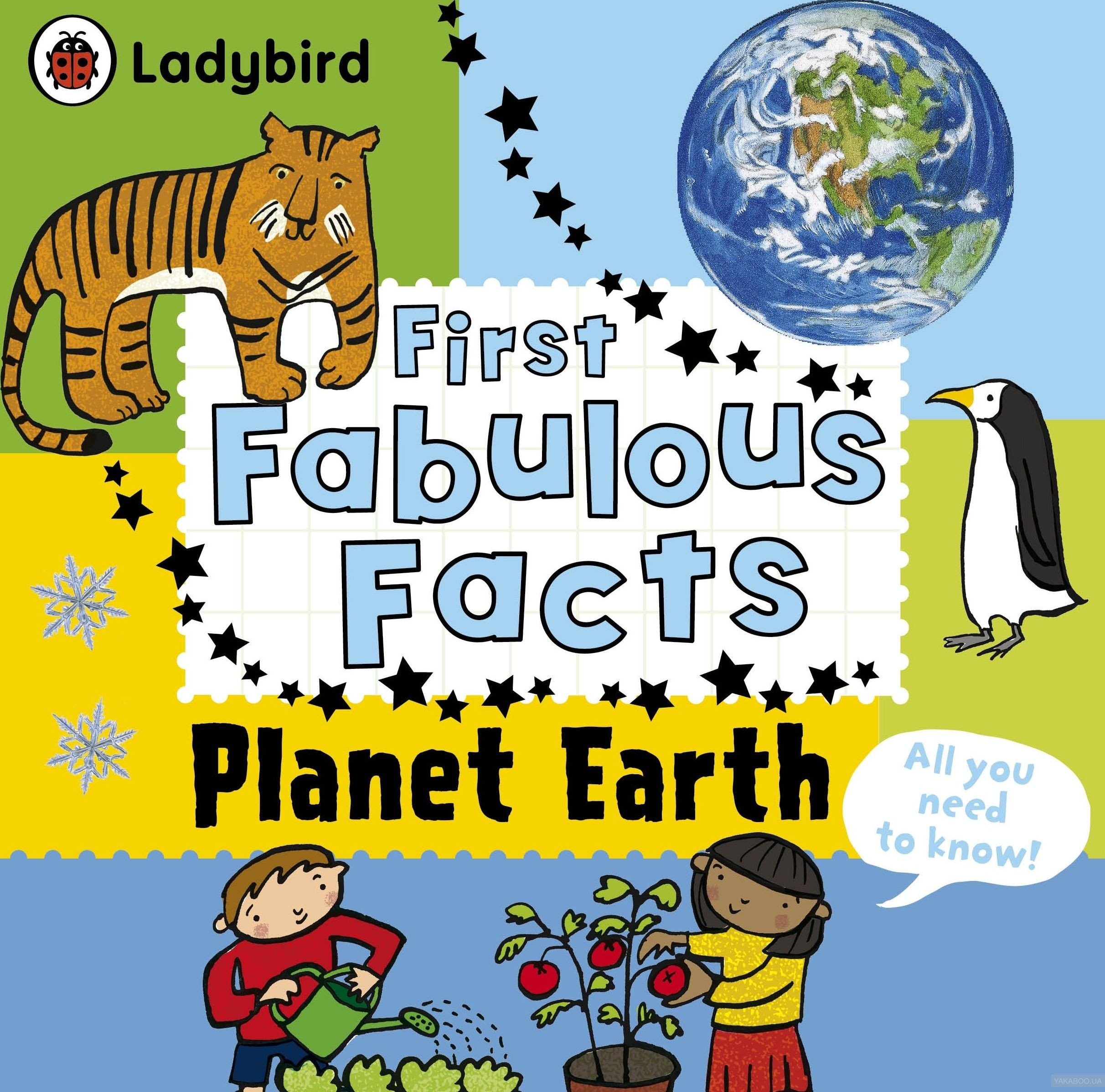 Ladybird First Fabulous Facts Planet Earth фото