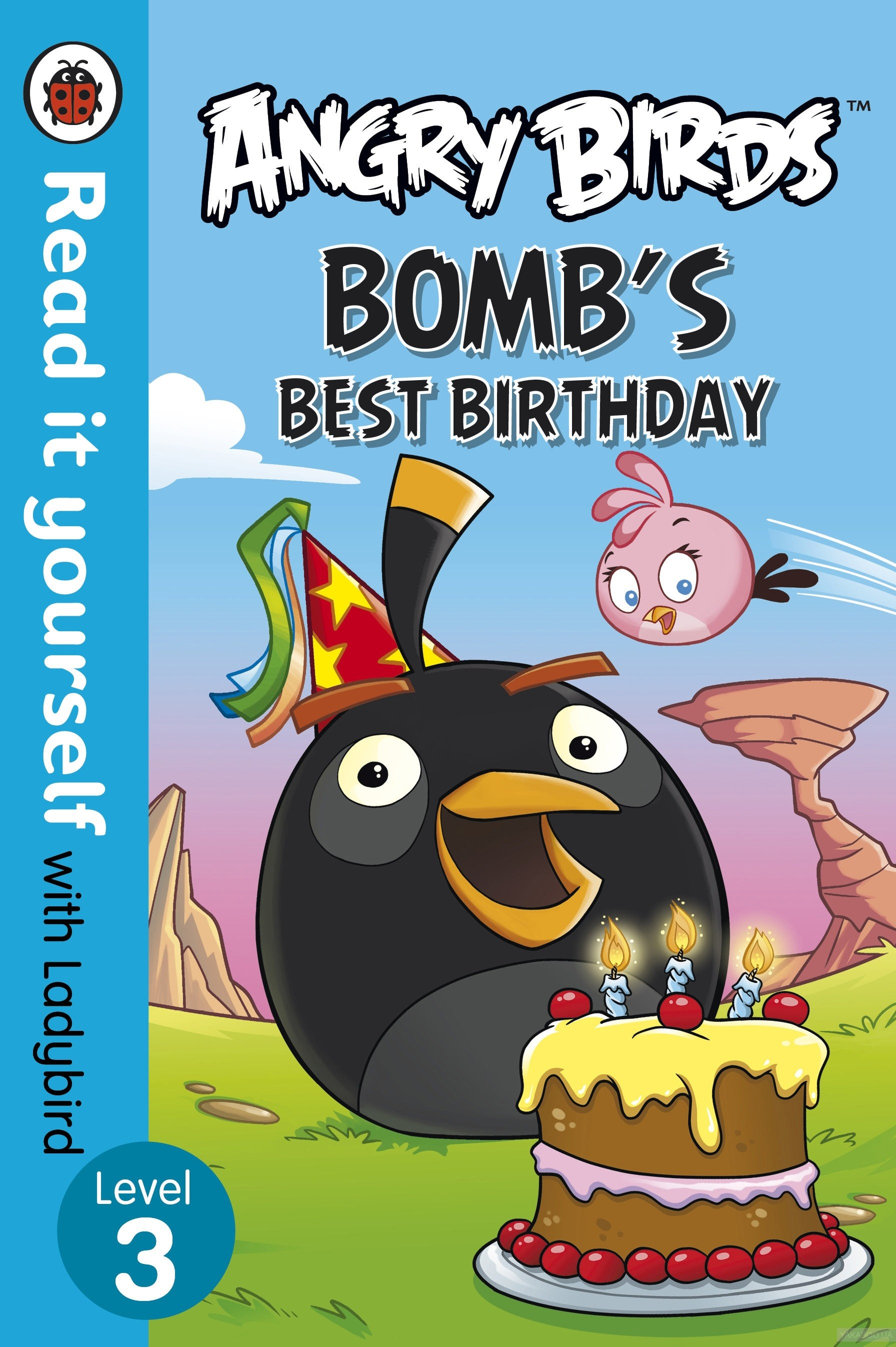 Angry Birds. Bombs Best Birthday