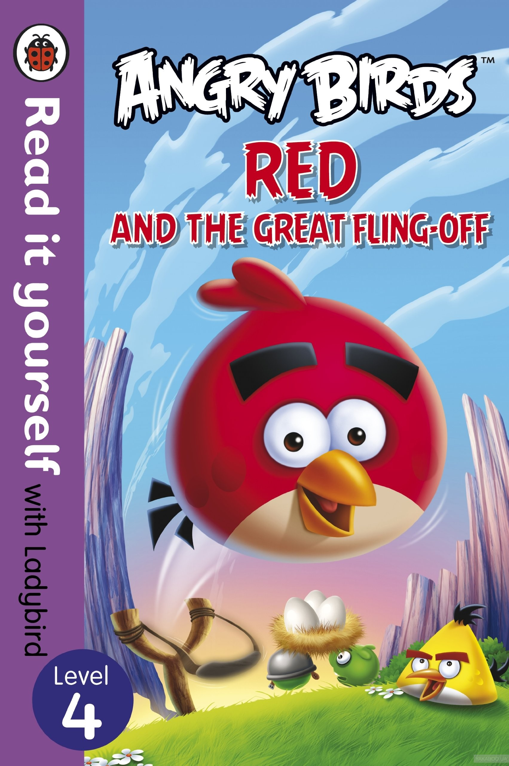 Angry Birds. Red and the Great Fling-Off. Level 4 фото