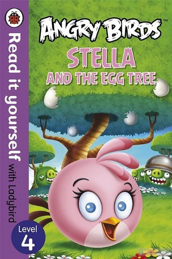 Angry Birds. Stella and the Egg Tree. Level 4 фото