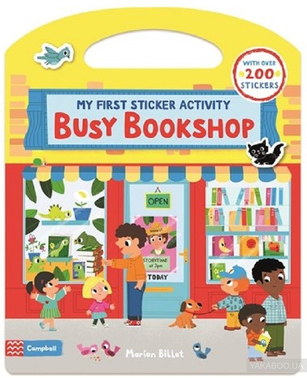 Busy Bookshop. My First Sticker Activity