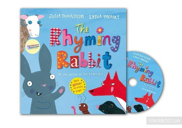 The Rhyming Rabbit. The Book and CD Pack фото