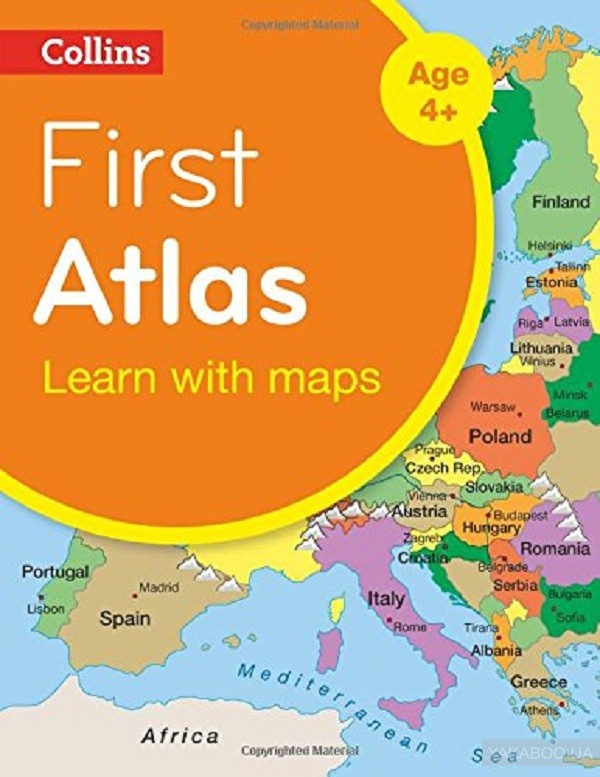 Collins First Atlas фото