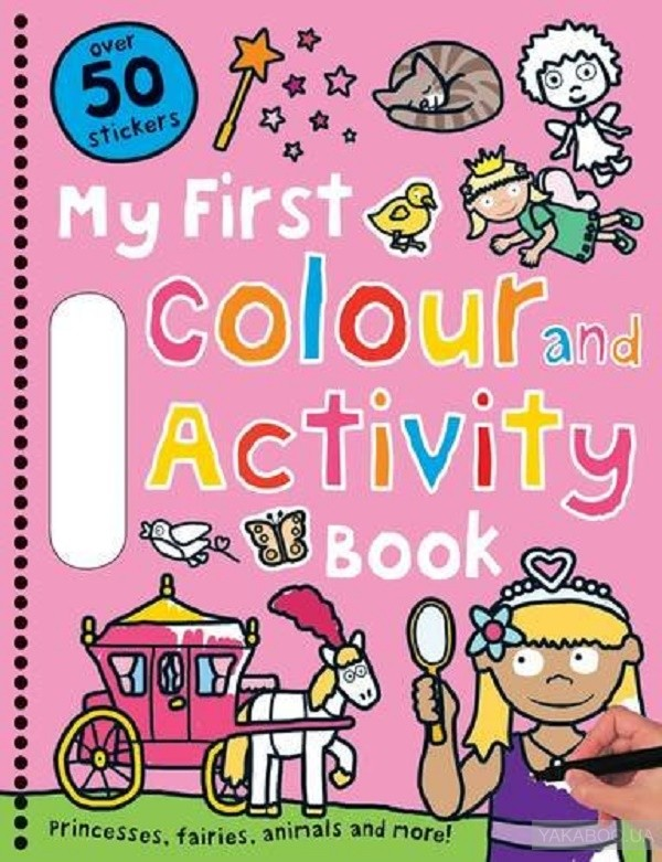 Pink (My First Colour and Activity Books) фото