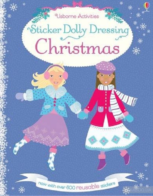 Sticker Dolly Dressing Christmas фото