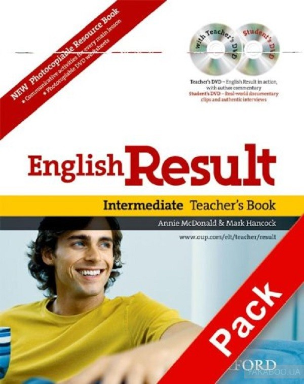 English Result Intermediate: Teacher&# 039;s Book with DVD Pack