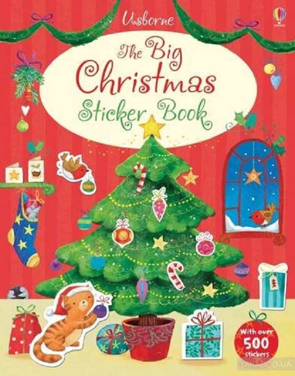 Big Christmas Sticker book фото
