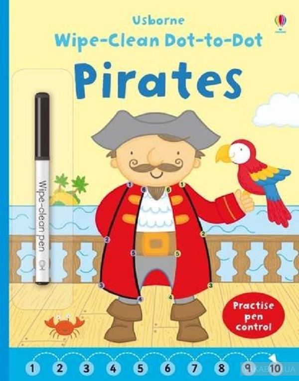 Wipe Clean Dot-to-Dot Pirates фото