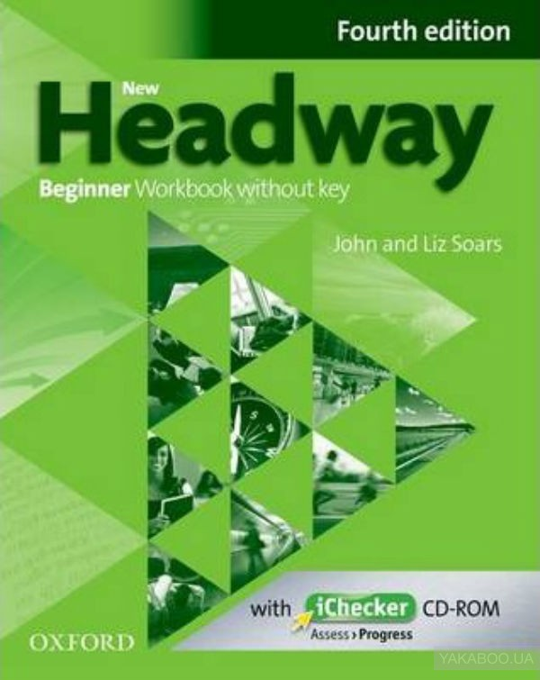 New Headway 4th Edition Beginner Workbook Without Key and iChecker Pack