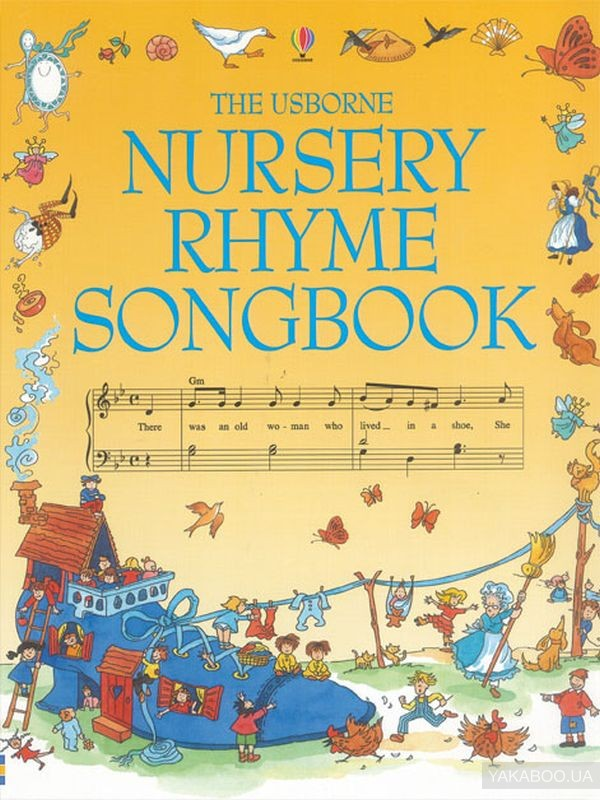 Nursery rhyme songbook (+CD-ROM)