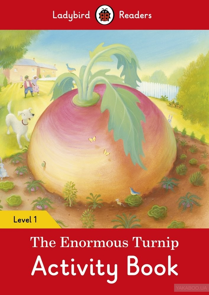 The Enormous Turnip Activity Book. Ladybird Readers Level 1