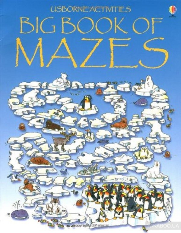 The Big Book of Mazes фото