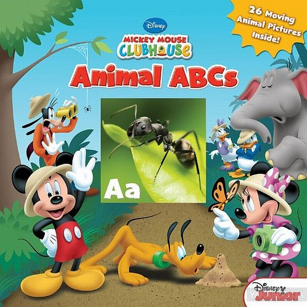 Mickey Mouse Clubhouse Animal ABCs фото