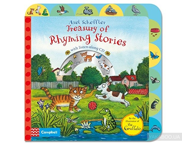 Treasury of Rhyming Stories with CD фото