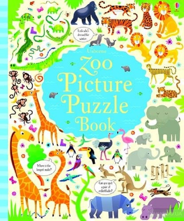 Zoo Picture Puzzle Book фото