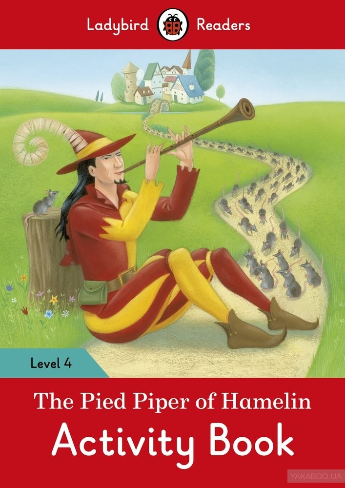 The Pied Piper Activity Book. Ladybird Readers Level 4