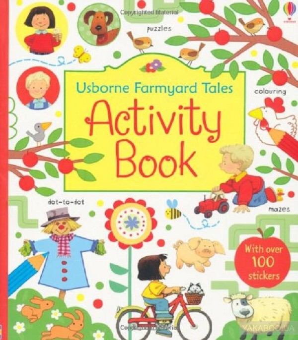 Farmyard Tales Activity Book фото