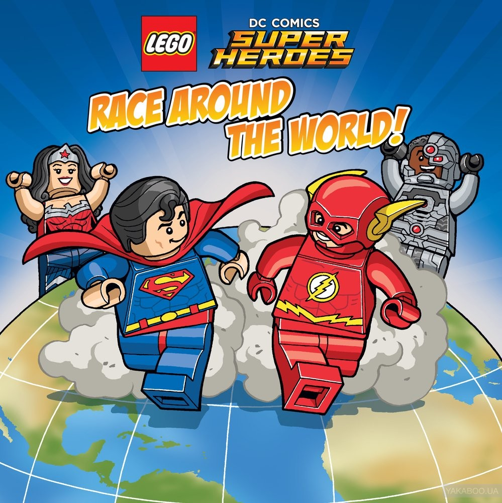 Lego DC Super Heroes. Race Around the World