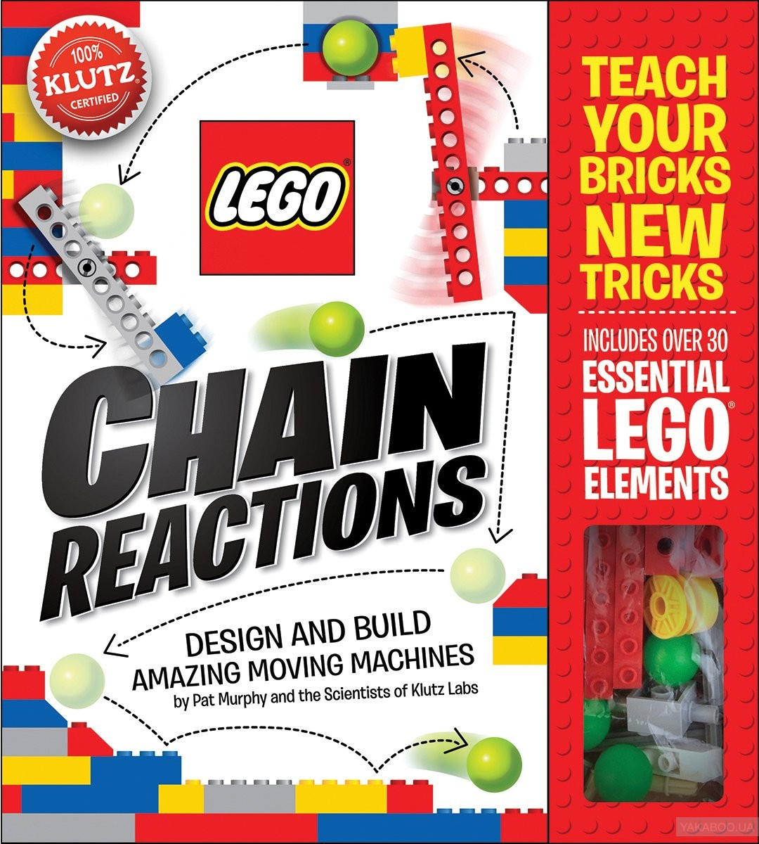LEGO Chain Reactions: Design and build amazing moving machines