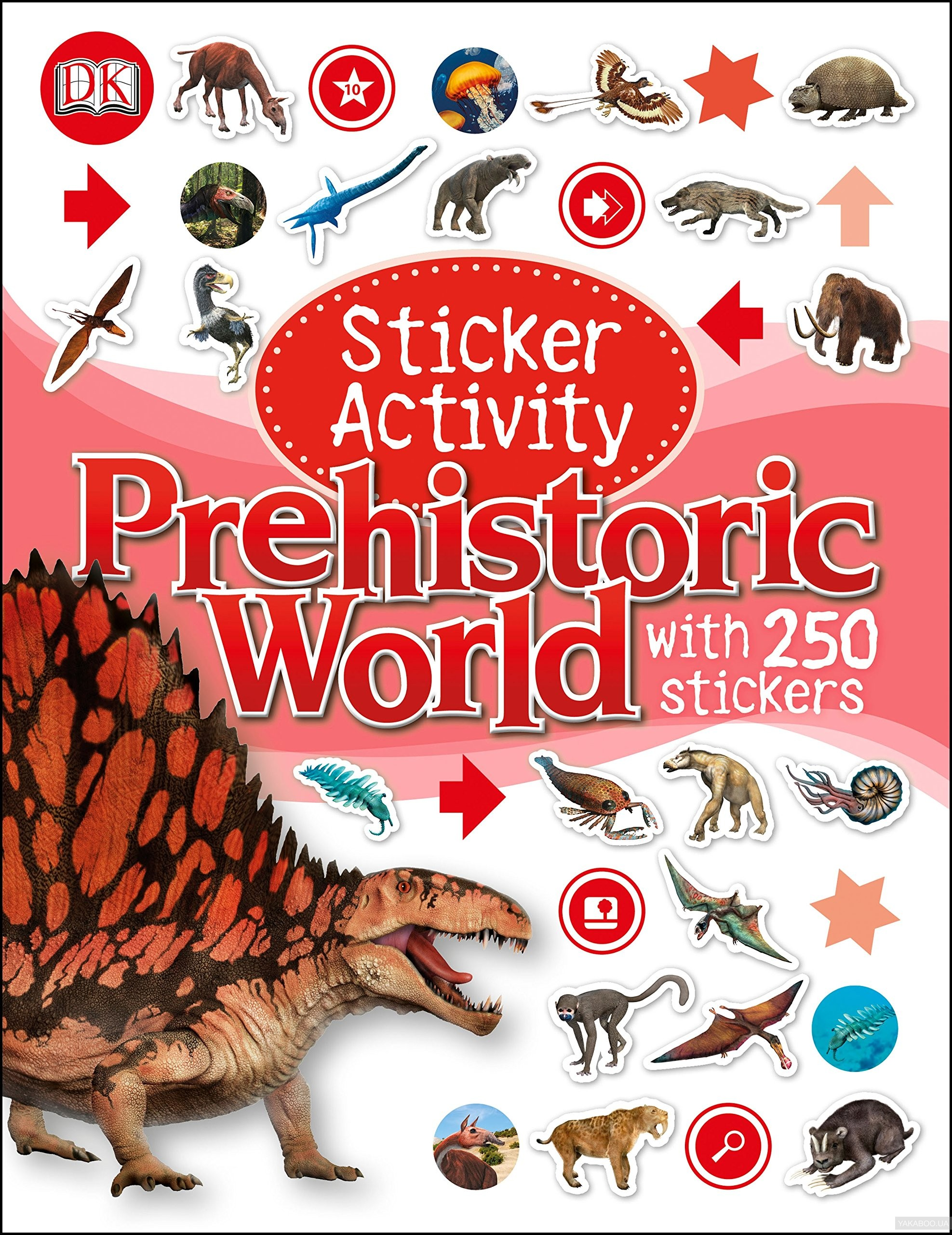 Sticker Activity: Prehistoric World