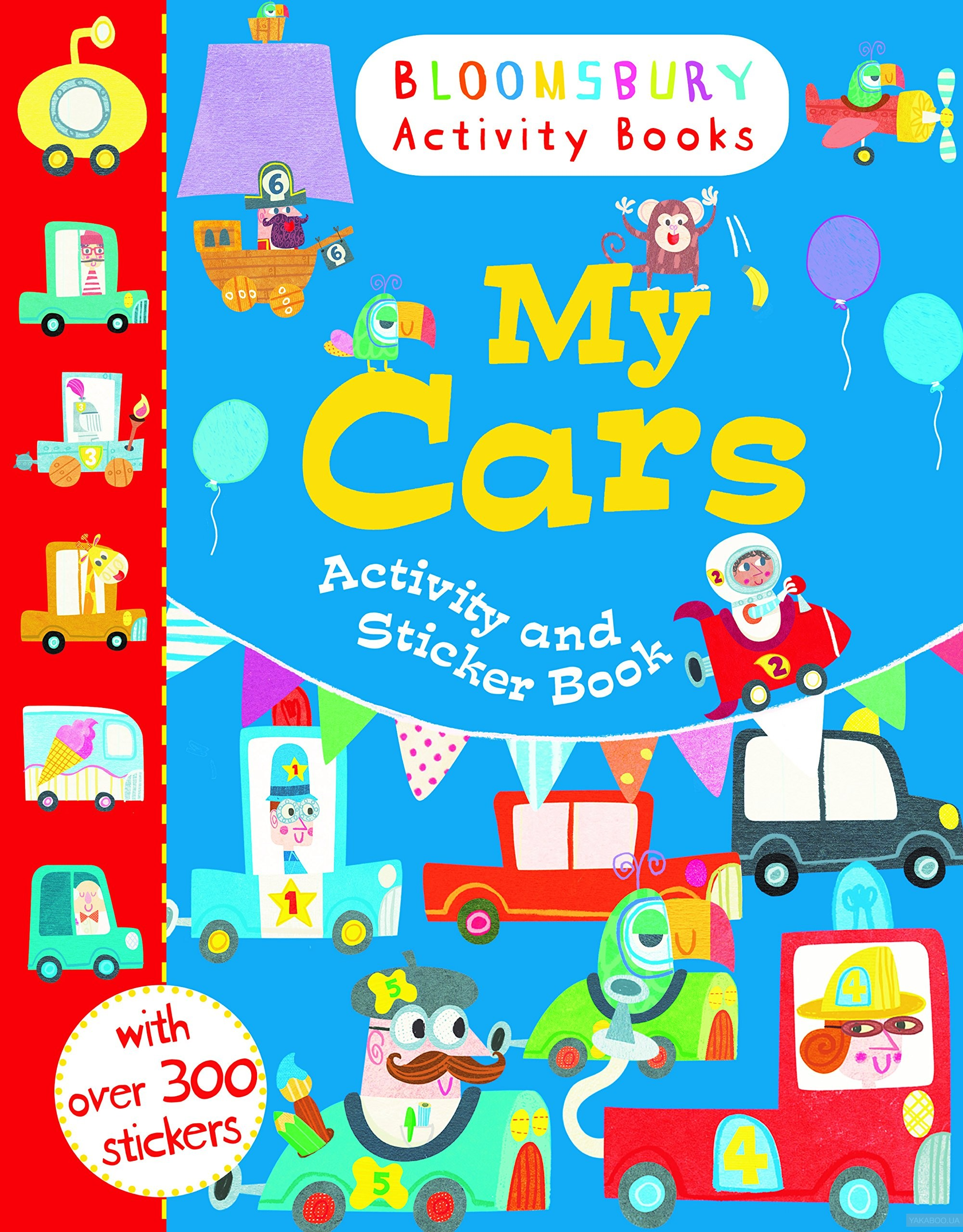 My Cars Activity and Sticker Book