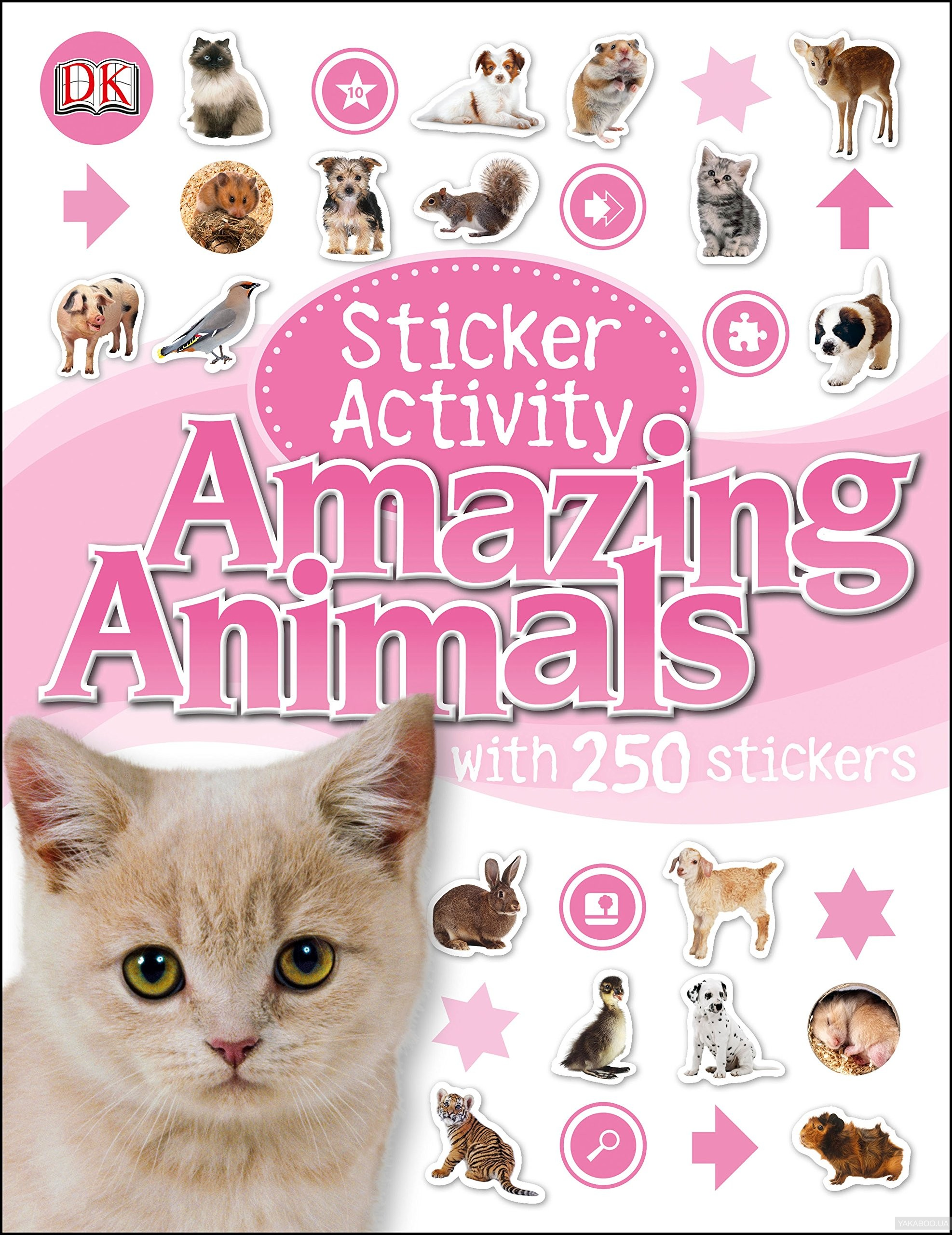 Sticker Activity Amazing Animals фото