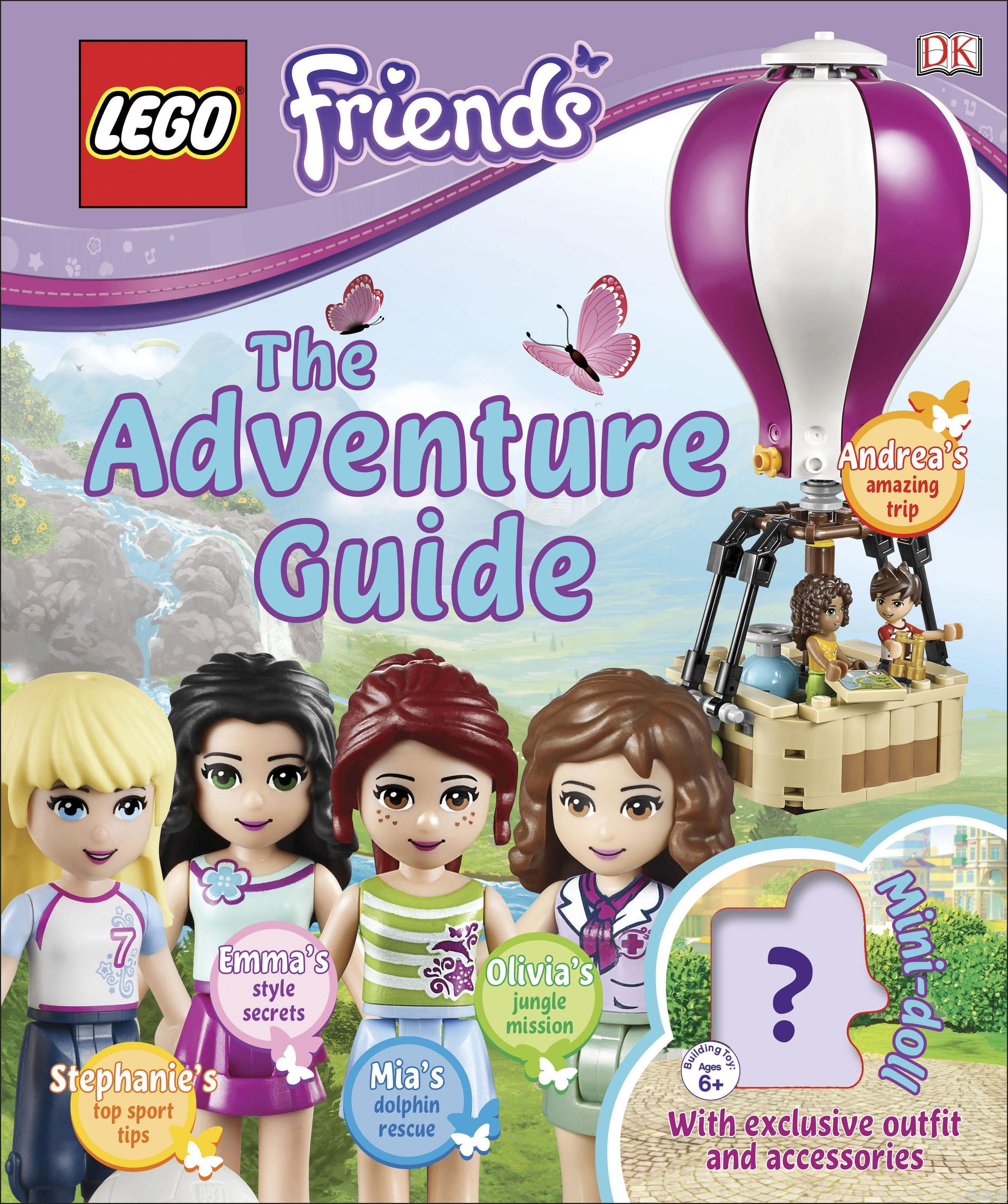Lego Friends the Adventure Guide фото