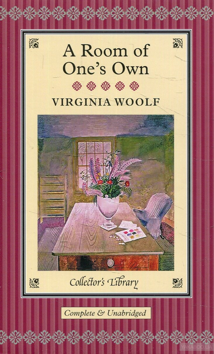 virginia woolf essay a room of ones own A room of one's own is an extended essay first published on october 24, 1929 the essay is based on two lectures titled women and fiction that virginia woolf gave at two women's colleges, newnham and girton college, in october of 1928.