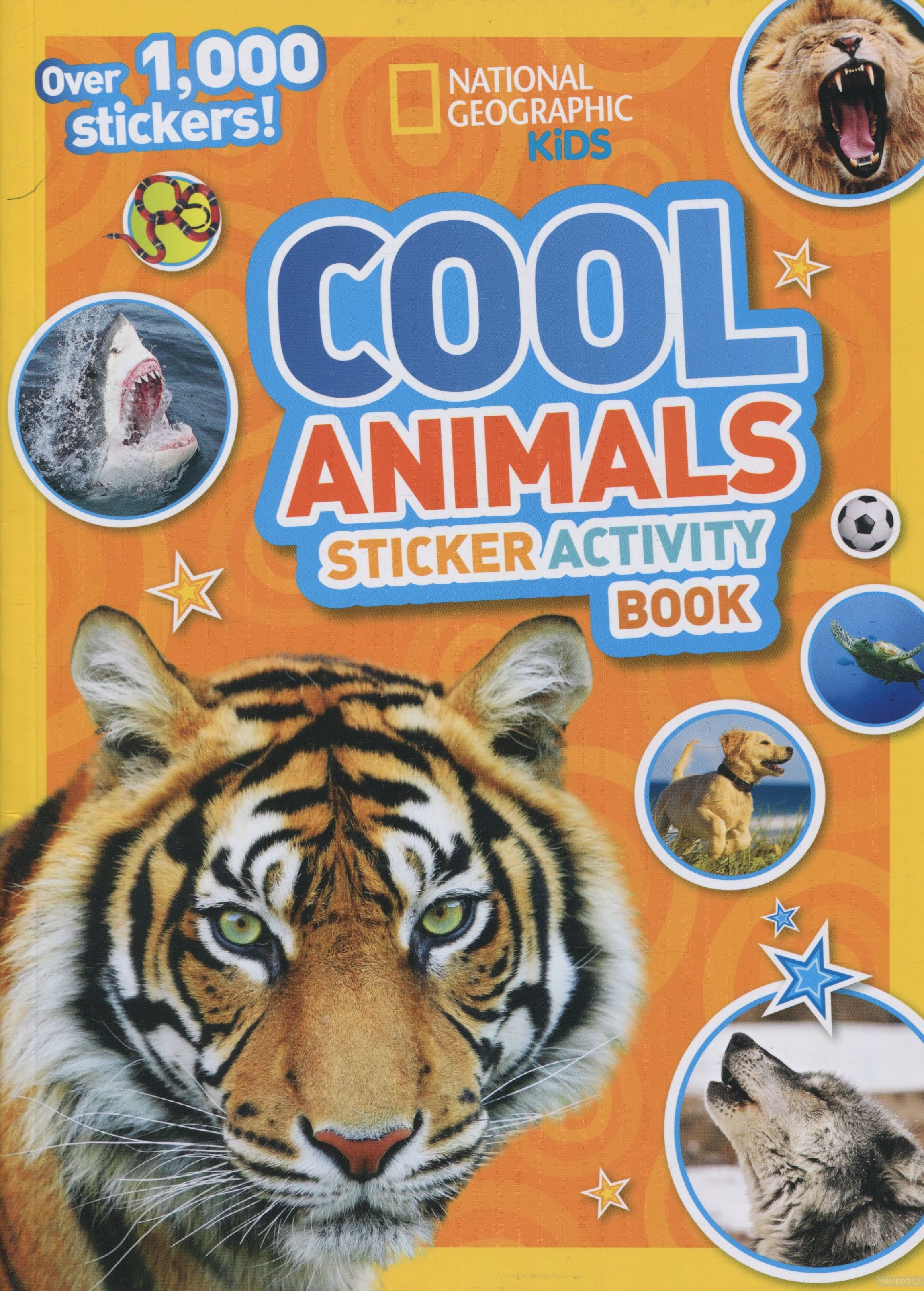 Cool Animals. Sticker Activity Book