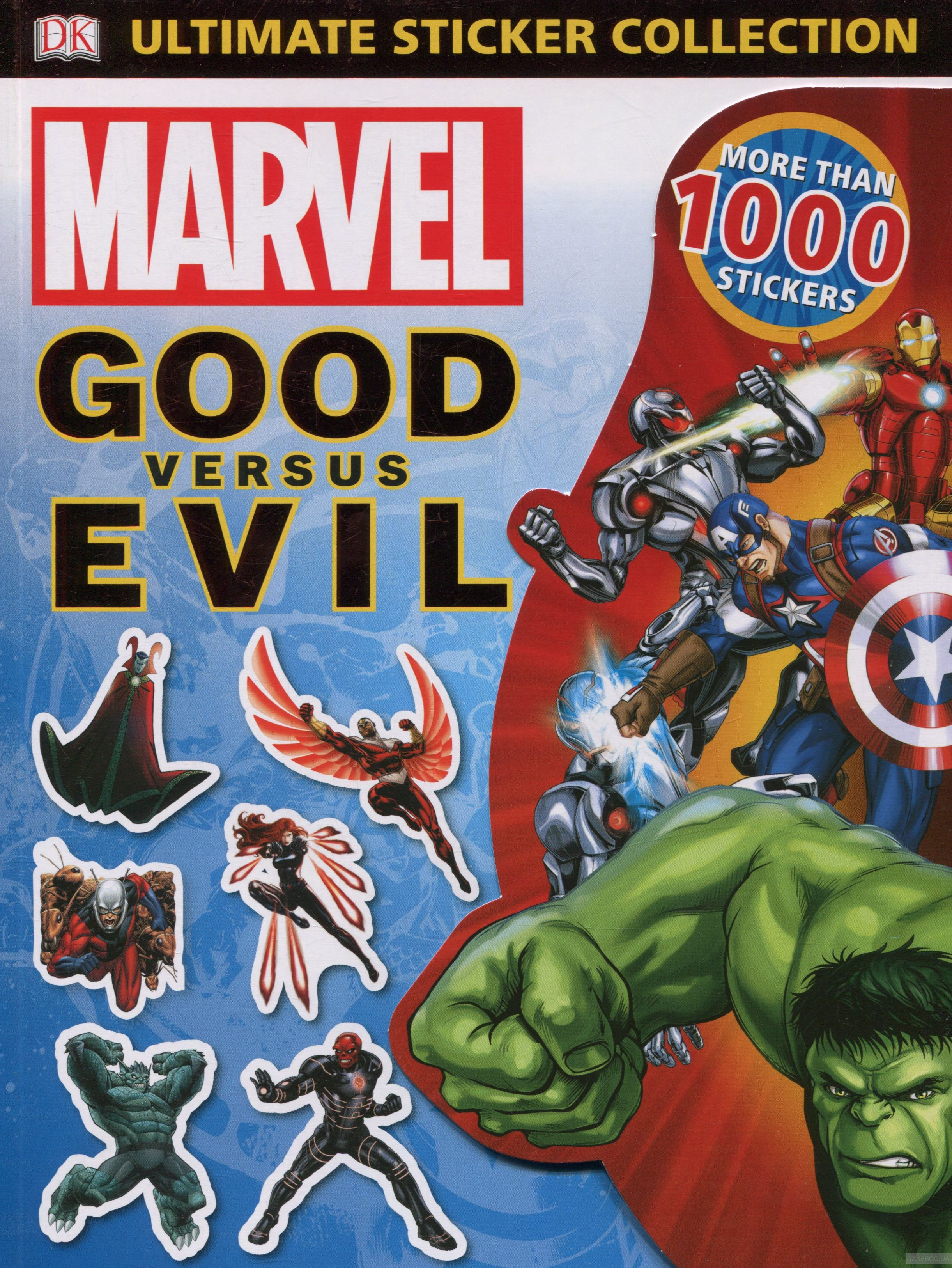 Marvel Good vs Evil Ultimate Sticker Collection фото