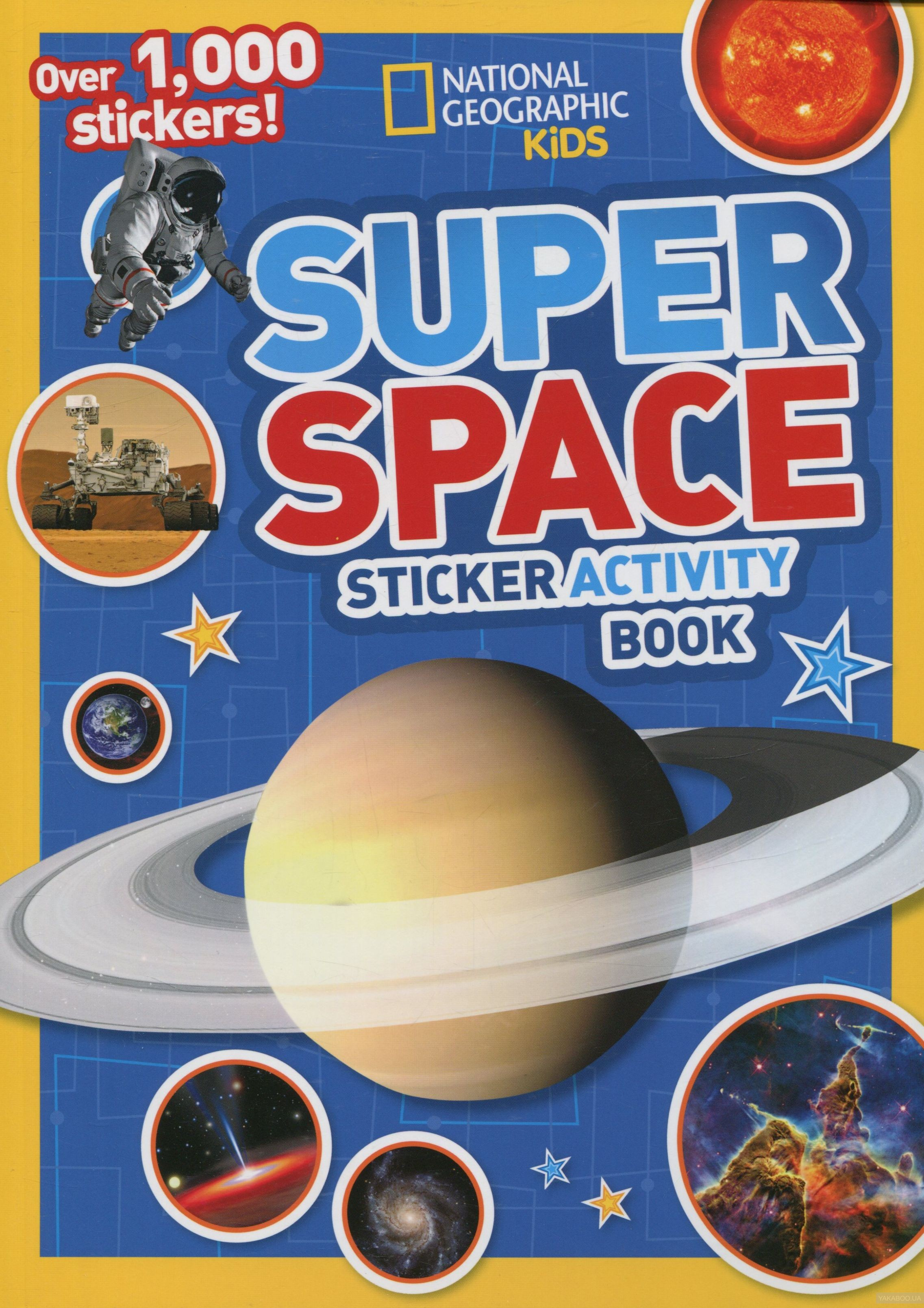 Super Space. Sticker Activity Book фото