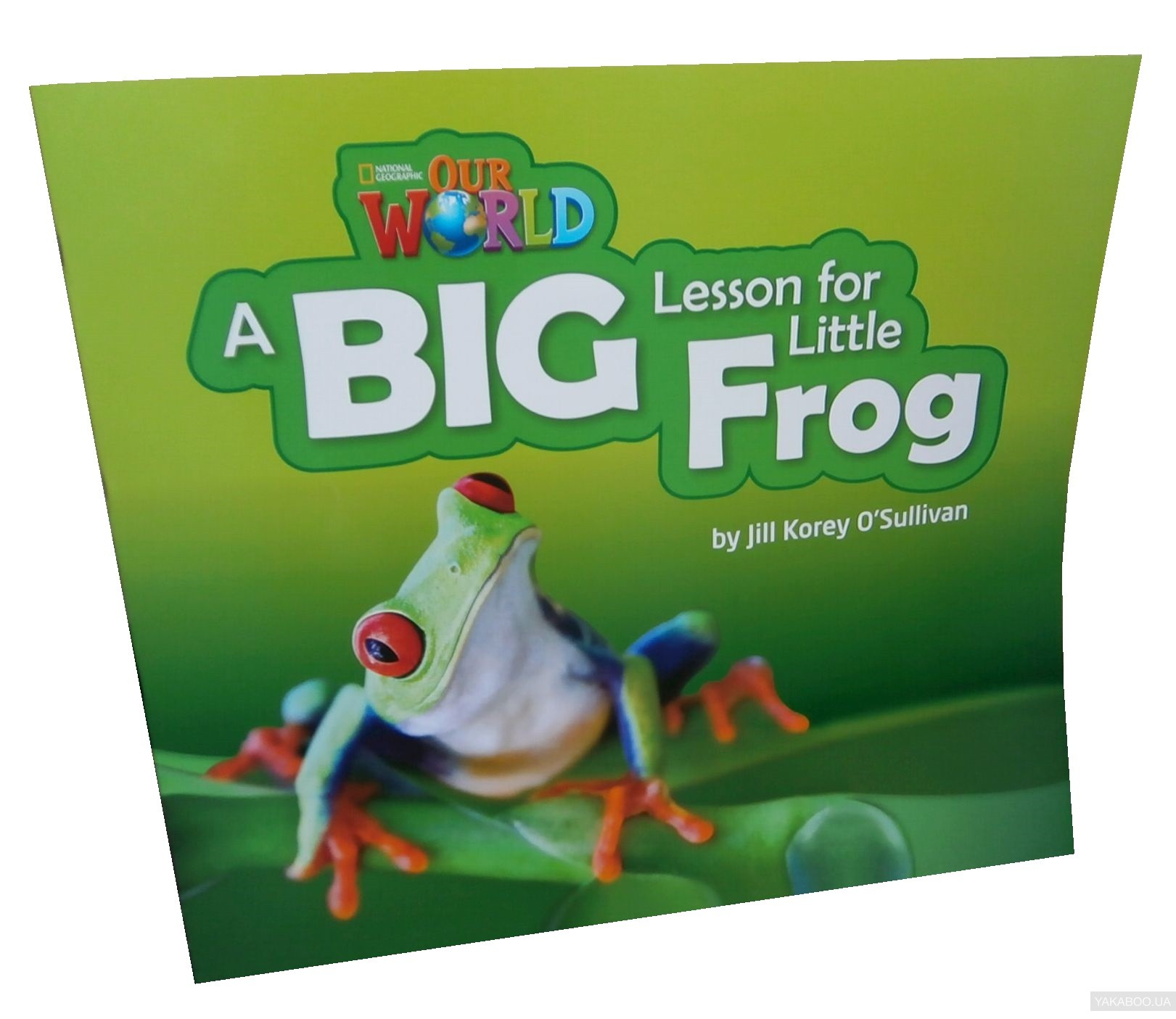 Our World Readers. A Big Lesson for Little Frog. Big Book