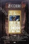 Zucchero: Zu & Co. Live at the Royal Albert Hall London 6th May 2004 (DVD)