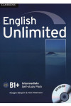 English Unlimited Intermediate. Self-study Pack (Workbook with DVD-ROM)