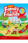 Family and Friends. Level 2. Class Book (+ multi-ROM Pack)