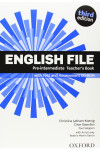 English File. Pre-Intermediate. Teacher's Book with Test and Assessment CD-ROM