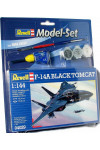 Модель Revell Самолет F-14A Tomcat Black Bunny 1:144 Model Set (64029)