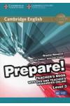 Cambridge English Prepare! Level 3. Teacher's Book (+ DVD-ROM)
