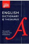 Collins Gem. English Dictionary and Thesaurus