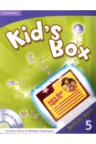 Купить - Книги - Kid's Box Level 5 Activity Book (+CD)