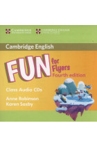 Купить - Книги - Fun for Flyers Class Audio 2 CDs